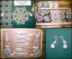 Här visas några av de produkter som finns till salu i museets  butik