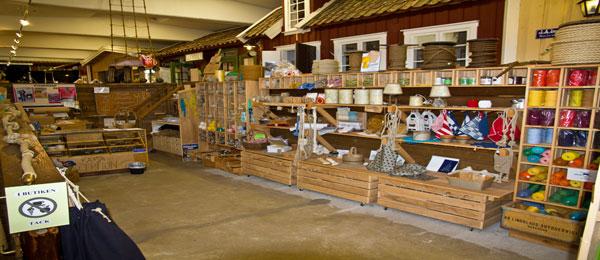 Butiken på Repslagarmuseet i Älvängen