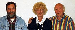 Rolf, Gunnel och Kurt