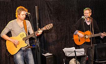 Lars-Eric och Johan Frendberg
