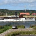 Bohuslän på väg i Göta kanal