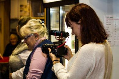 Filmare under action